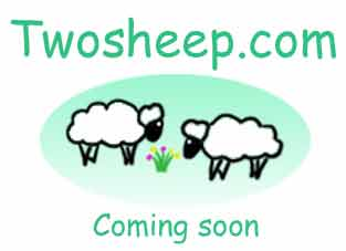 Twosheep.com - coming soon!